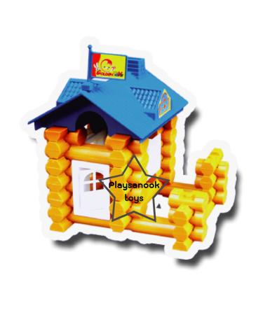 TY-1029 บล็อกพลาสติกสร้างบ้าน