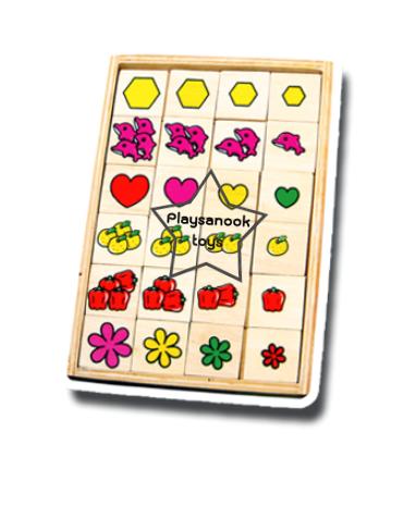 TY-3012 เกมเรียงลำดับภาพ ตารางสัมพันธ์
