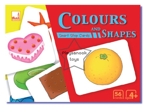 SKF-04 บัตรคำ-บัตรภาพสีสันและรูปทรง