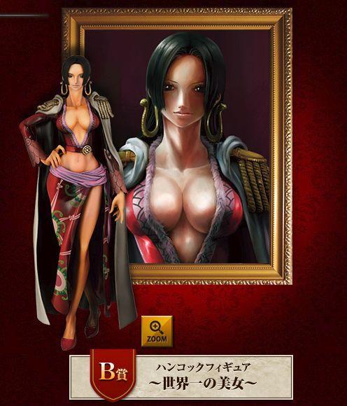 Boa Hancock The Great Gallery ของแท้ JP แมวทอง - Ichiban Kuji Banpresto [โมเดลวันพีช] (Rare)