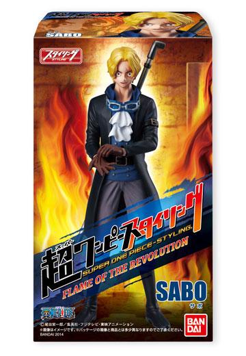 Sabo ของแท้ JP แมวทอง - Super Styling Bandai [โมเดลวันพีช]