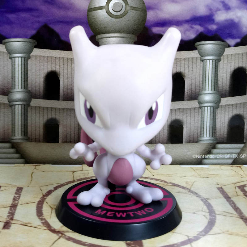 Mewtwo พร้อมฉาก ของแท้ JP - Ichiban Kuji Banpresto [โมเดลโปเกมอน] (Rare)
