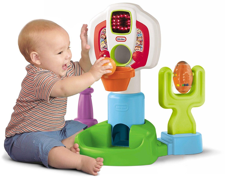 ชุดแป้นบาสอิเล็กโทรนิกส์ little tikes discover sound sports center ส่งฟรีพัสดุไปรษณีย์