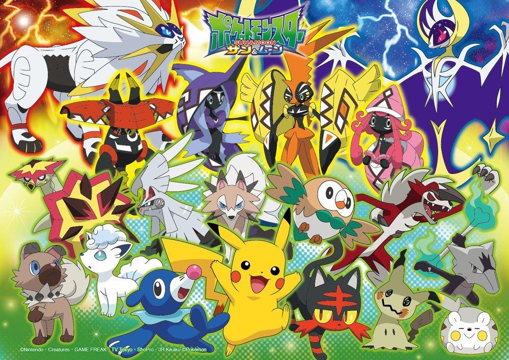 Pokemon Sun & Moon ของแท้ JP - Jigsaw Pokemon [จิ๊กซอว์โปเกมอน]