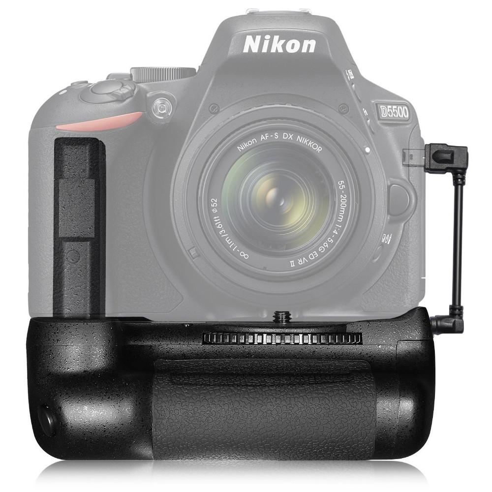Neewer Battery Grip(แบ็ตเตอรี่กริ๊ป) สำหรับกล้อง Nikon DSLR D5500, D5600