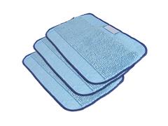ผ้าถูพื้น microfiber ชนิดเปียก 3 ชิ้น สำหรับ iRobot Braava 300 Microfibre cloth 3-pack,MOPPING Wet