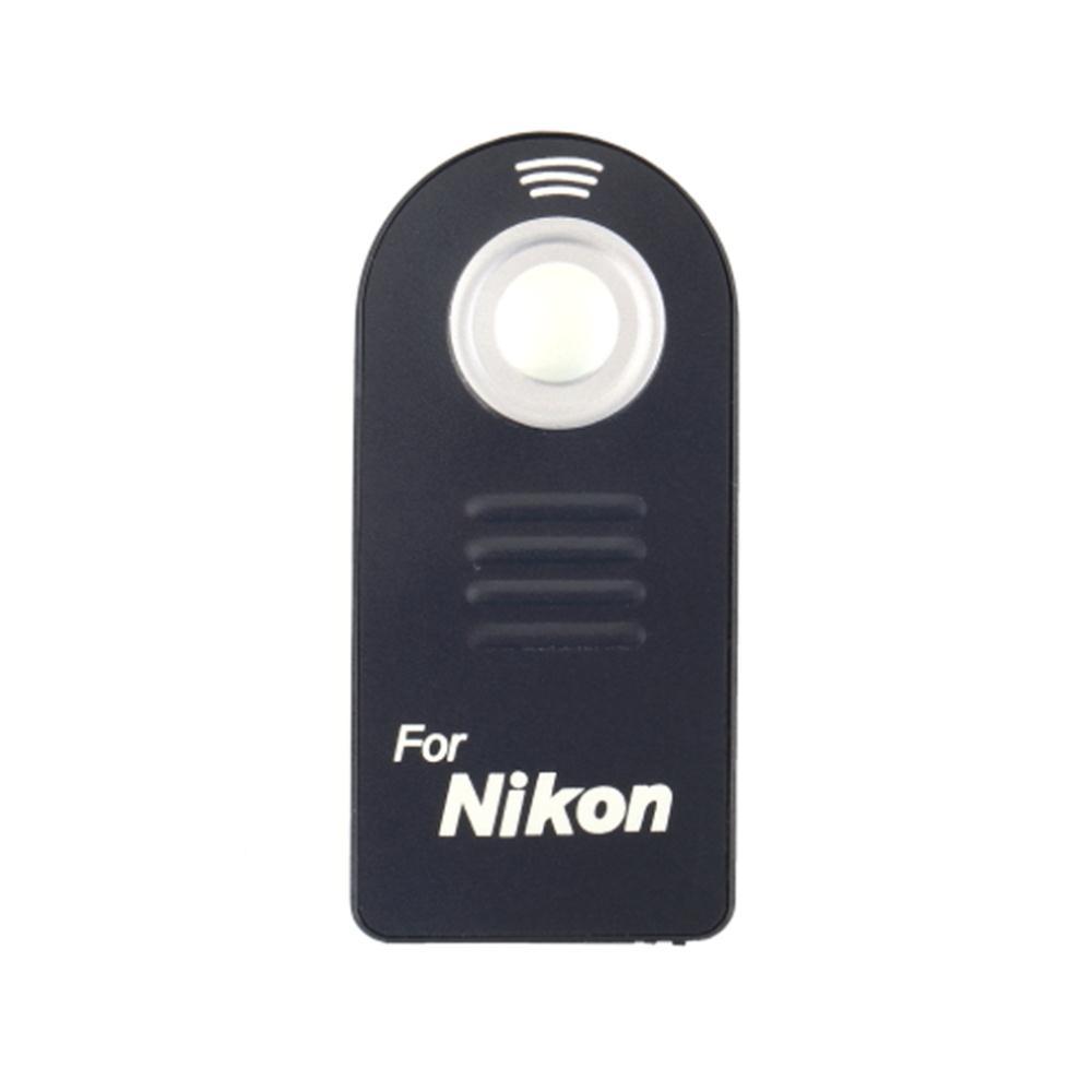 รีโมท(IR) ไร้สายลั่นชัตเตอร์(เทียบเท่ารุ่น ML-L3) พร้อมถ่าน for Nikon D5000, D5100, D7000, D3000, D90, D80
