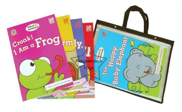 SKF-18 หนังสือ Big Book Hello Animals ชุด 2 (ชุดละ 5 เล่ม)