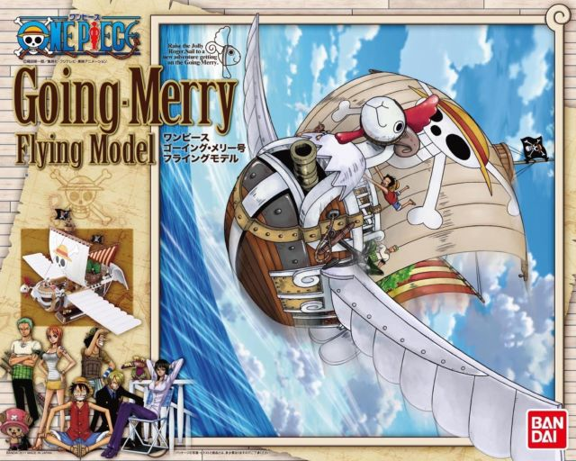 Going Merry Flying Model ของแท้ JP แมวทอง - Bandai Grand Ship Collection [โมเดลเรือวันพีช]