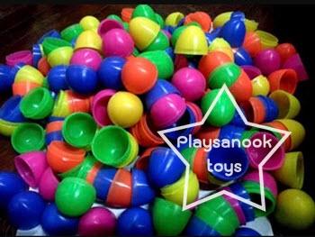 PS-1212 ลูกบอลไข่จับฉลาก 100 ลูก