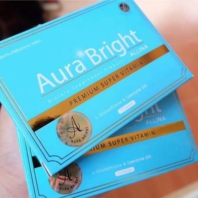 Aura Bright ออร่าไบร์ท วิตามินเร่งผิวขาว ของผิว ราคาส่ง โทร 096-7914965