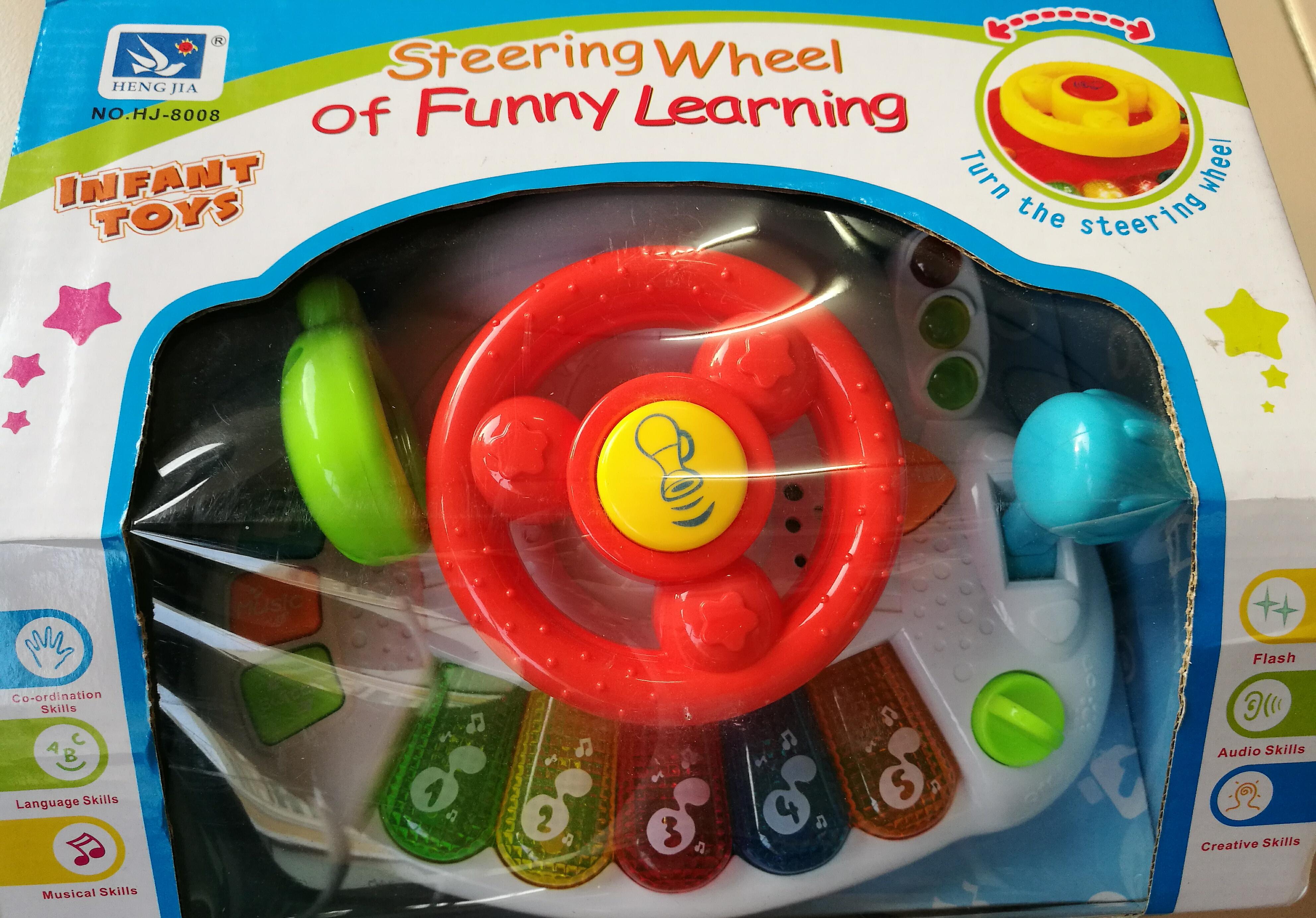 พวงมาลัยหัดขับรถยนต์ Car Wheel ส่งฟรี