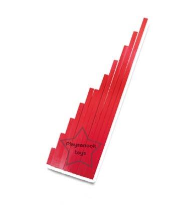 TY-1212 บันไดยาวสีแดง