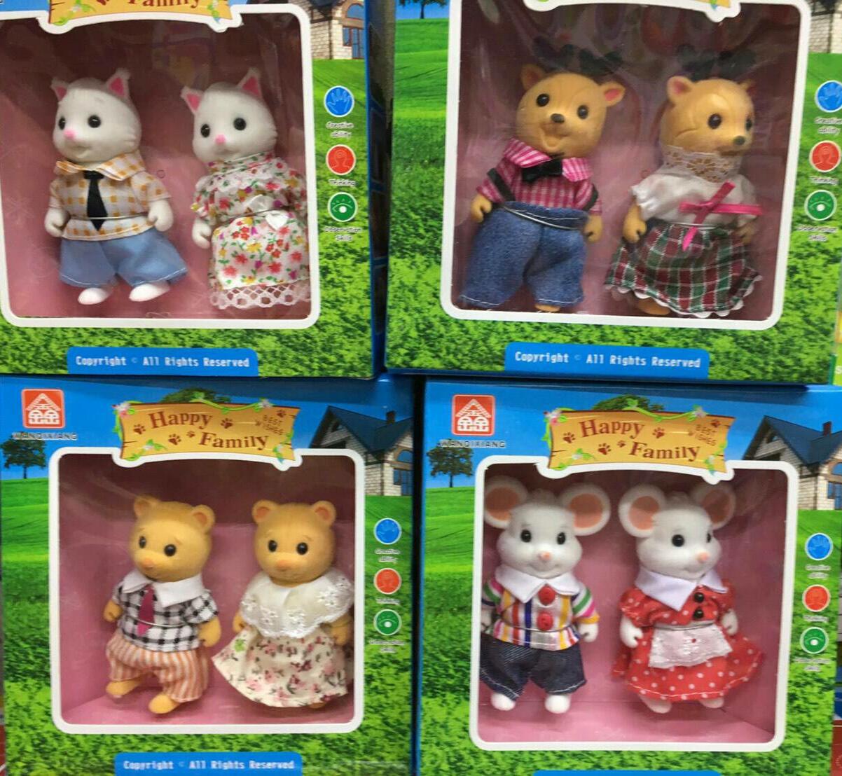 ตุ๊กตาบ้านกระต่าย ชุดละ 2 ตัว ส่งฟรีพัสดุไปรษณีย์