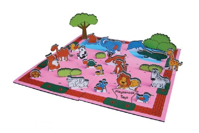 SKL-07 ชุดเกมท่องเที่ยวสวนสัตว์ซาฟารี