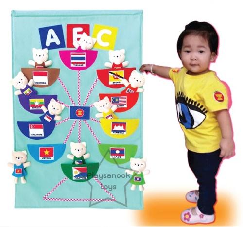 SKAEC-30 Wall Bag ธงชาติอาเซียน