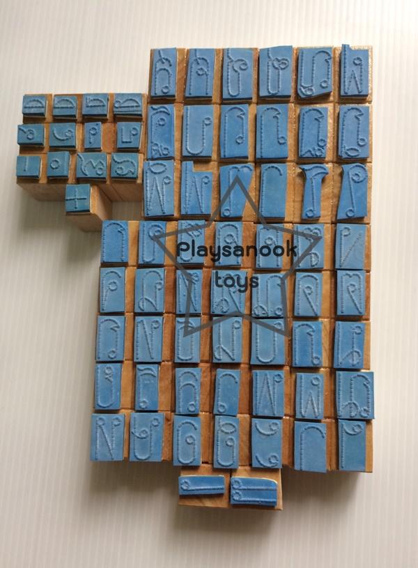 TY-1103 ตรายางภาษาไทยจุดประ ขนาด 3 บรรทัด