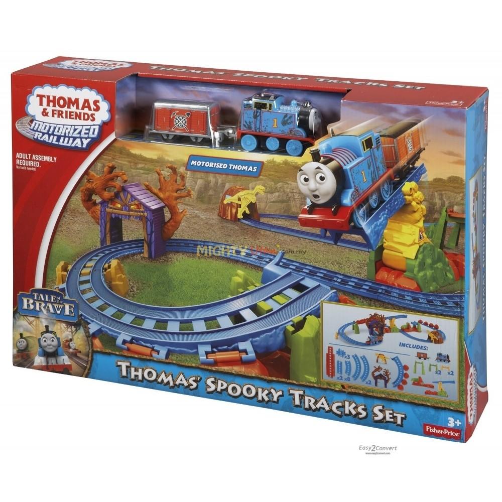 รถไฟ Thomas spooky train set by Fisher Price ของห้าง ของแท้ ส่งฟรี