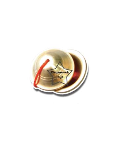 TY-4042 ฉิ่งทองเหลืองจิ๋ว