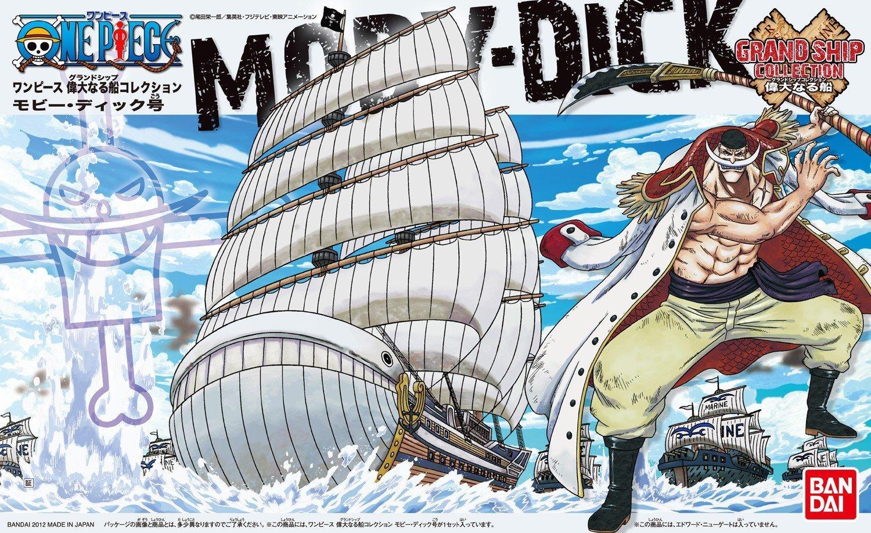 Moby Dick ของแท้ JP แมวทอง - Bandai Grand Ship Collection [โมเดลเรือวันพีช]