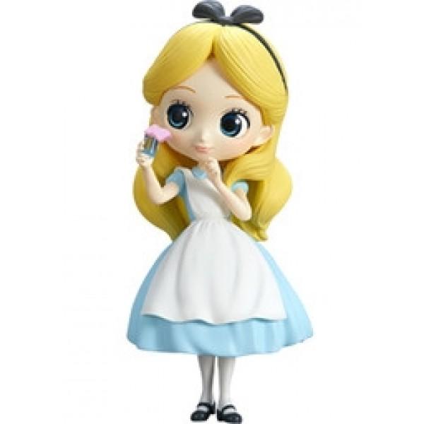 Alice Thinking Time ของแท้ JP - Q Posket Disney - Pastel Color [โมเดล Disney]