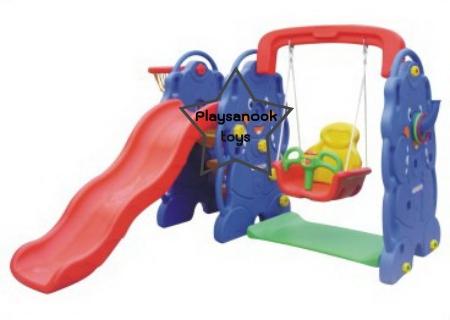 SPT-1003BSW กระดานลื่นชิงช้าช้างน้อยพาซู๊ต