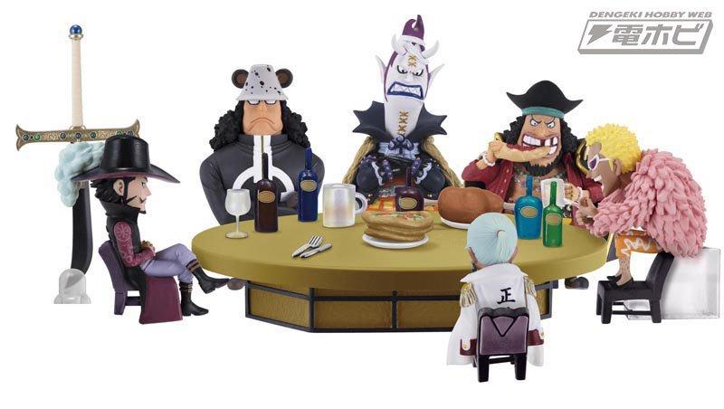 Shibukai ของแท้ JP แมวทอง - WCF Banpresto Ichiban Kuji [โมเดลวันพีช] 6 ตัว