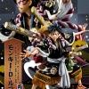 Luffy Ver. Kabuki ของแท้ JP แมวทอง - POP Limited Edition Megahouse [โมเดลวันพีช]