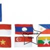 SKAEC-13 ธงประจำชาติอาเซียน 1 ชุด มี 11 ผืน
