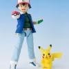 Satoshi & Pikachu (ขยับได้) ของแท้ JP - S.H.Figuarts Bandai [โมเดลโปเกมอน] (Rare)