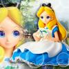 Alice in Wonderland ของแท้ JP - Crystalux Disney [โมเดล Disney]