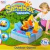 กระบะทราย แมคโคร พร้อมอุปกรณ์ 11 ชิ้น Sandbox game ส่งฟรี