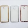 เคสมือถือแบบ Electroplated ขอบสี สำหรับ Samsung Galaxy J7 Pro