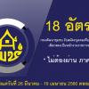 ประกาศ ++ กรมการพัฒนาชุมชน เปิดรับสมัครสอบเป็นพนักงานราชการ จำนวน 18 อัตรา ตั้งแต่วันที่ 26 มีนาคม - 19 เมษายน 2561