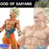 Goku Super Saiyan ของแท้ JP แมวทอง - Blood of Saiyans Banpresto [โมเดลดราก้อนบอล]