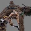 Bartolomeo Battle ของแท้ JP แมวทอง - Scultures Banpresto [โมเดลวันพีช]