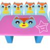 EVF-21 ชุดโต๊ะเก้าอี้ครอบครัวหมาป่า