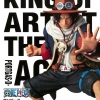 Ace ของแท้ JP แมวทอง - King of Artist Banpresto [โมเดลวันพีช]