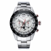 นาฬิกาข้อมือผู้ชาย AMST สายสเตนเลส,สายหนัง, มัลติฟังก์ชั่น, 6 เข็ม, กันน้ำลึก 30 เมตร, ดูได้เวลากลางคืน