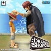 Luffy & Shanks ของแท้ JP แมวทอง - Dramatic Showcase Banpresto [โมเดลวันพีช] (Rare) 2 ตัว