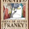 Franky Wanted - Jigsaw One Piece ของแท้ JP แมวทอง (จิ๊กซอว์วันพีช)