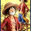 Luffy ของแท้ JP แมวทอง - Grandista Banpresto [โมเดลวันพีช]