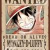 Luffy Wanted - Jigsaw One Piece ของแท้ JP แมวทอง (จิ๊กซอว์วันพีช)