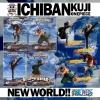 New World Set ของแท้ JP แมวทอง - Ichiban Kuji Banpresto [โมเดลวันพีช] (Rare) 4 ตัว