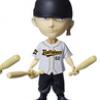 Zoro Baseball ของแท้ JP แมวทอง - Bobbing Head Plex [โมเดลวันพีช]