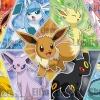 Evee Evolutions ของแท้ JP - Jigsaw Pokemon [จิ๊กซอว์โปเกมอน]