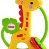 เขย่ามือ ยางกัด Giraffe clacker fisher price ส่งฟรี