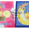 PBP-246 สมุดบันทึกพัฒนาการลูกรักBABY record book 1 ชุดมี 2 เล่ม
