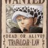 Law Wanted - Jigsaw One Piece ของแท้ JP แมวทอง (จิ๊กซอว์วันพีช)