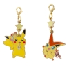 Pikachu & Victini ของแท้ JP [พวงกุญแจโปเกมอน]